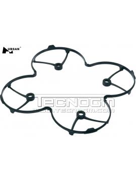 Griglia protezione eliche nero per Hubsan H107C H107D M8 protection cover h107c-a20