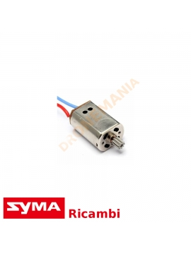 Motore drone Syma X8 serie G X8HG CG cavo rosso nero ricambio Syma motore elettrico