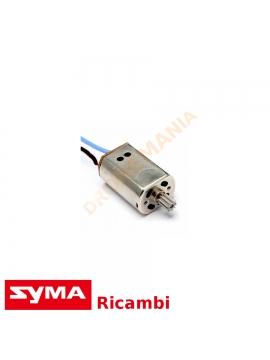 Motore drone Syma X8 serie G X8HG CG cavo rosso blu ricambio Syma motore elettrico