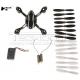 Crash Pack kit ripristino drone Hubsan H107L h107-a37 set eliche motori scocca