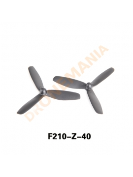 Set 2 eliche a 3 pale Walkera drone F210 3D Runnner accessorio eliche top performance F210-Z-40