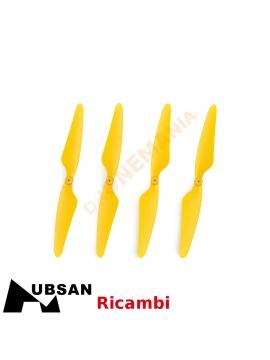 Set 4 eliche Hubsan H507A H507A-03 eliche gialle 2xA 2xB