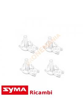 Set 4 supporti motore drone Syma X8SW ricambi accessori originali Syma