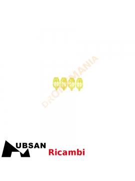 Set 4 para LED piedi atterraggio drone Hubsan H507A H507A-02