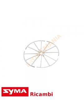 Set proteggi eliche X5UW Syma drone quadricottero ricambi griglie protezione eliche