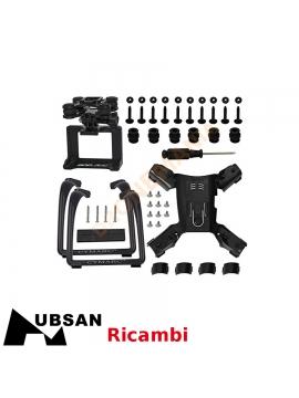 Carrello di atterraggio con supporto camera per drone Hubsan H501S H501A