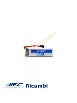 Batteria LiPo JJRC H37 selfie drone 3,7V 500 mAh