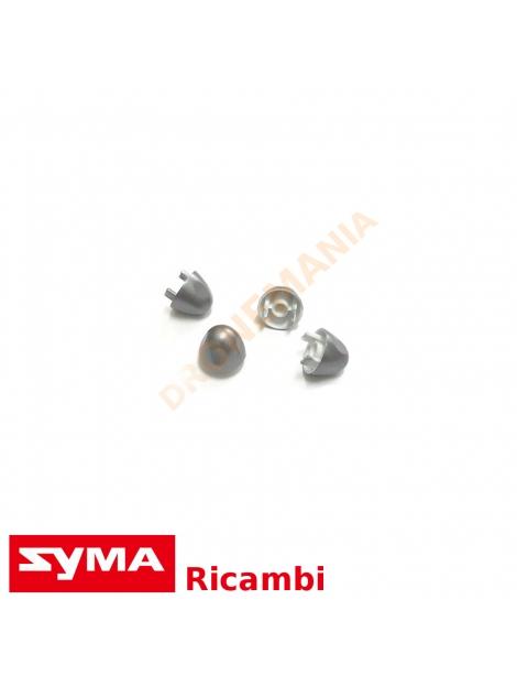 Cover elica Syma X8PRO set 4 pezzi ricambi drone X8 coperchio elica rifinitura PRO